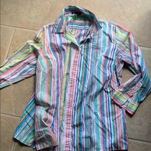 Ralph Lauren button down multi color shirt size 2X